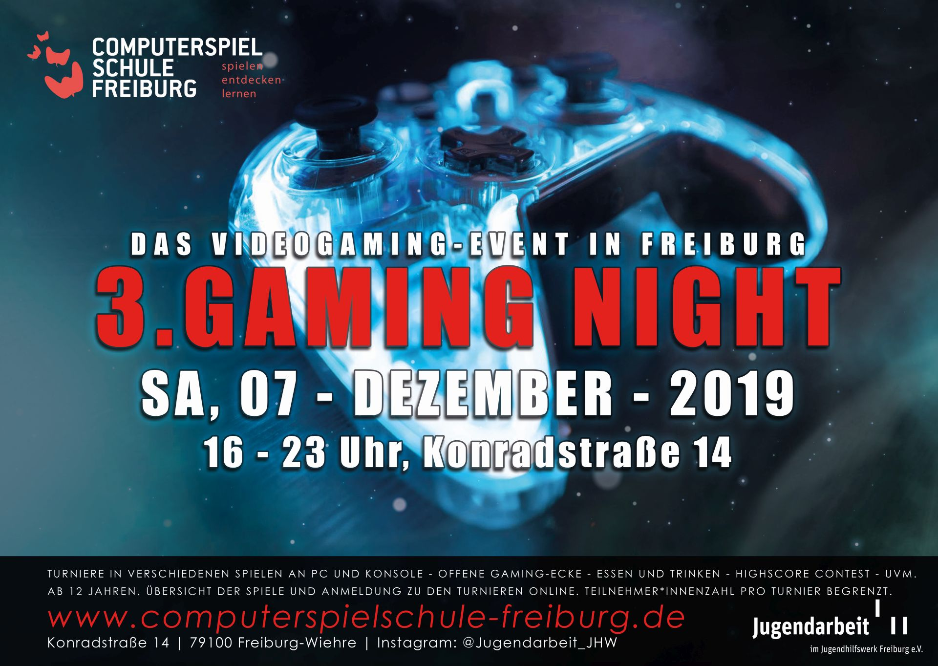 Die 3.Gaming Night am 07.12.2019!