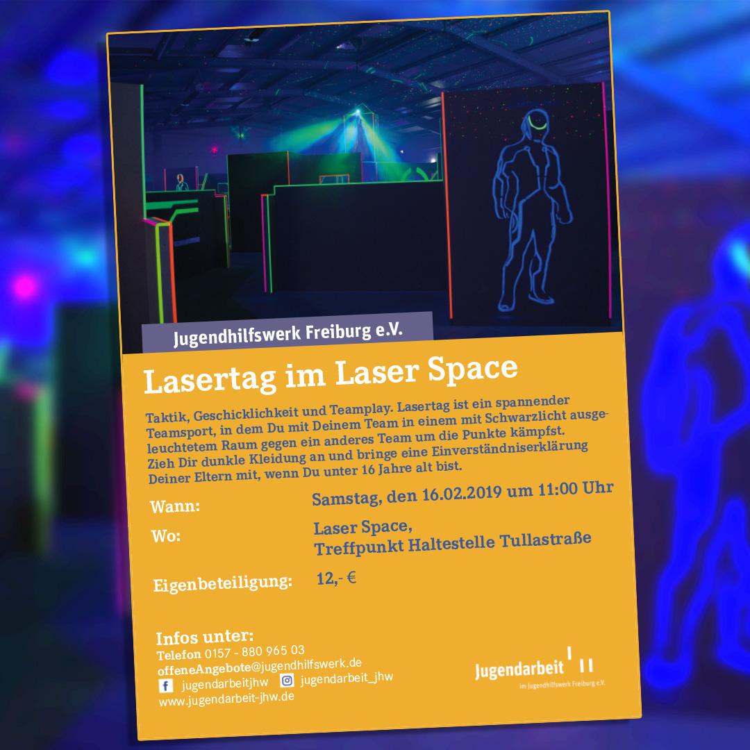 Lasertag am 16.02.2019